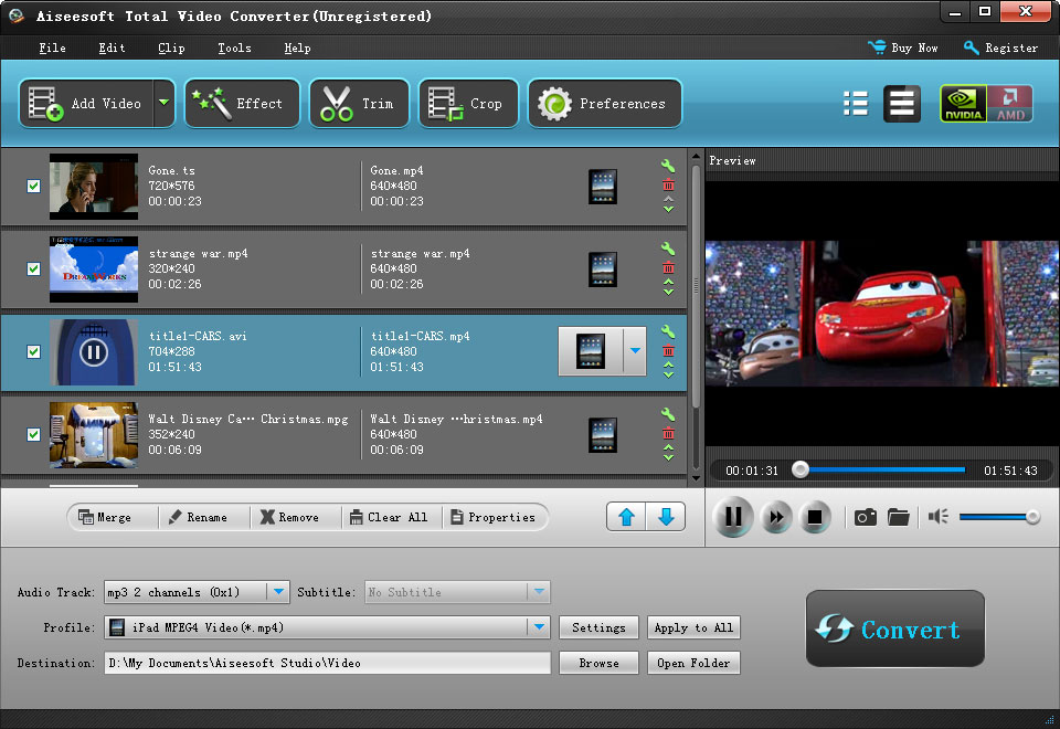 Total video converter convert all popular video and audio files tsmtsm2ts converter ccuart Choice Image