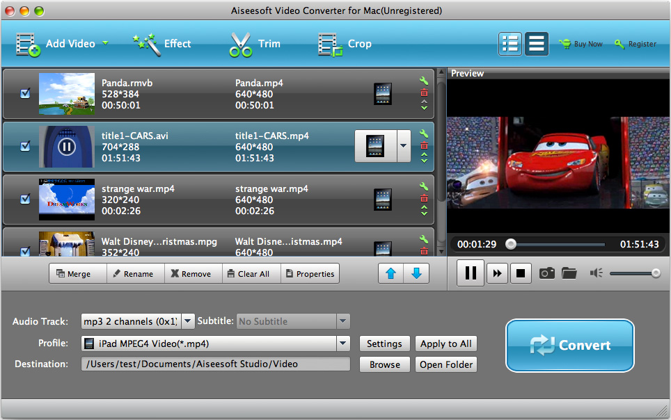 Video converter for mac convert all popular video files on mac video converter for mac ccuart Choice Image